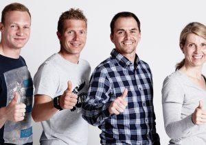 Francesco Friedrich, Andi Birnbacher, Michael Greis, Brigitte Schmailzl